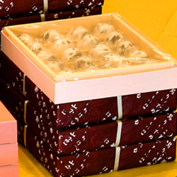 破れ饅頭 日向の国 風の菓子 虎屋
