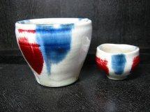 辰砂呉州流しカップ