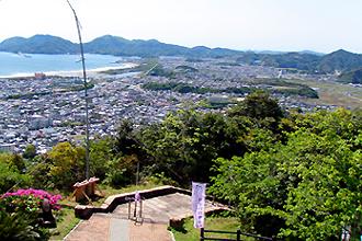 愛宕山からの風景(南側)