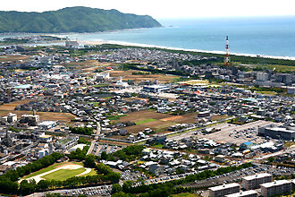 愛宕山からの風景(北側)