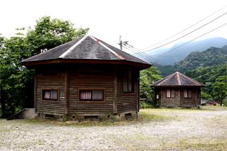 祝子川キャンプ場 コテージ