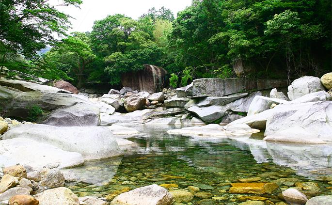 祝子川キャンプ場/祝子川渓谷
