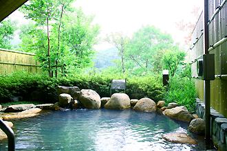 祝子川温泉「美人の湯」露天風呂