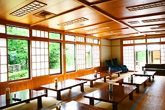 祝子川温泉「美人の湯」休憩所