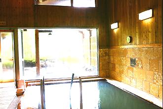 祝子川温泉「美人の湯」内風呂