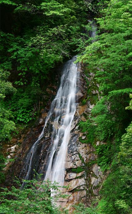香花谷観音滝