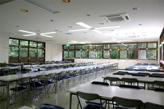宮崎県むかばき青少年自然の家 食堂
