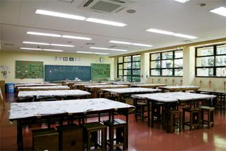 宮崎県むかばき青少年自然の家 創作室