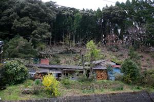 大分県境近くの静かな山間にある「夢境庵」