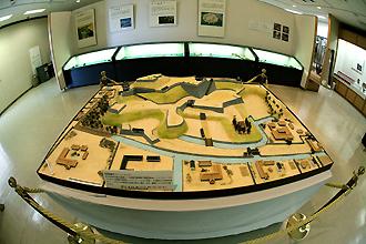 延岡城全景模型