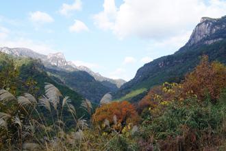 大崩山秋の風景
