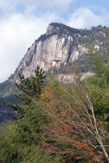 大崩山秋の近景