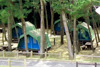 下阿蘇ビーチリゾート浜木綿村 常設テント・オートキャンプ場