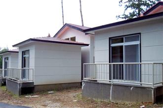 鹿川キャンプ場 バンガロー