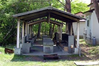 鹿川キャンプ場 炊飯施設