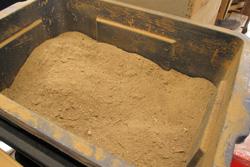 アラで作られた有機肥料