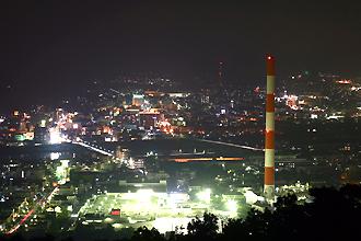 延岡市内(イオン付近)の夜景