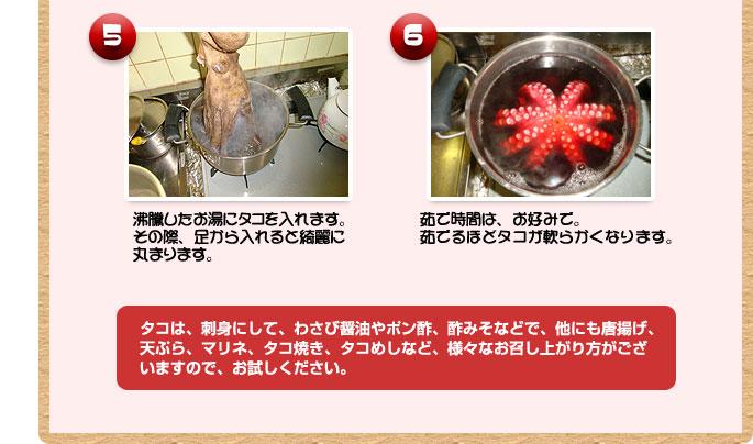 ととろダコの漁師が教える、タコのさばき方4~5